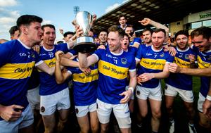 Joy day: Ectstatic Maghery players bask in the glory of seeing off Crossmaglen