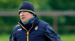 Firm stance: Lenny Harbinson is boosting his Antrim squad