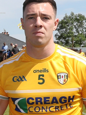 Lead role: Declan Lynch is out to keep up the momentum