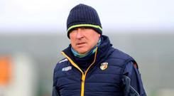 Tough talk: Antrim boss Lenny Harbinson believes that clubs need to be more flexible to help ease fixture congestion