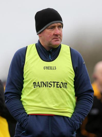 Making big plans: Antrim manager Frank Fitzsimons has added to his panel