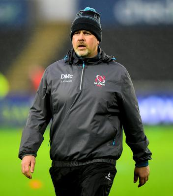 Looking ahead: Ulster coach Dan McFarland is making plans