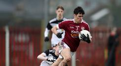 Powerful display: Jamie Grant starred for Termon