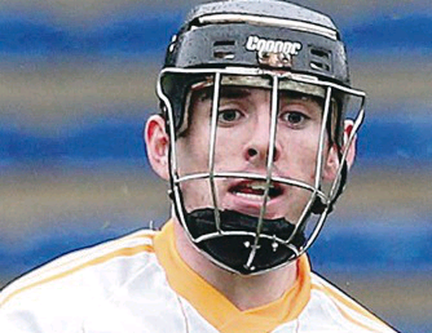 Ciaran Clarke got Antrim off to a good start