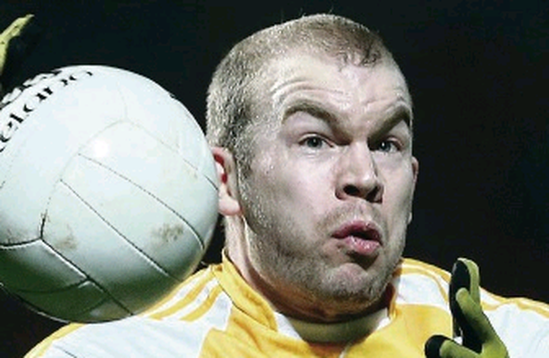 Paddy Cunningham got Antrim off to a flyer