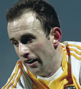 Clinical: Michael Pollock added a brace of frees for Antrim