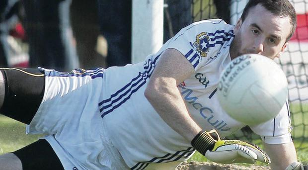 Number one: Chris Kerr taking it one match at a time, the secret of St Gall's success in the Antrim Championship down the years
