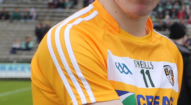 Antrim skipper captain Conor Small