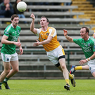Familiar face: Michael McCann has returned to the Antrim panel after a year's break to bolster the side for their 2016 campaign