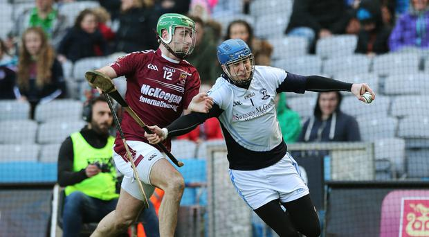 Goal blitz: Sean McAfee scored as Cushendall hit 6-29