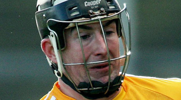 Eddie McCloskey grabbed three points for Loughgiel yesterday