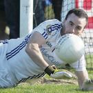 Antrim and St Gall's goalkeeper Chris Kerr