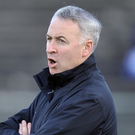Major test: Antrim boss Lenny Harbinson is facing a difficult fixture list in both the Ulster Championship and Allianz League