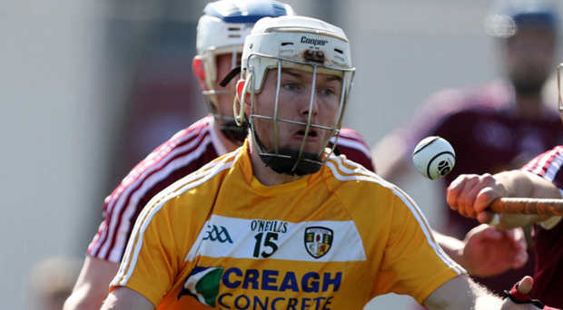 Star man: Deaghlan Murphy hit 12 Antrim points