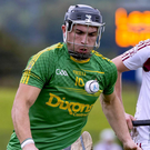 Goal-getter: Nigel Elliott's goal was not enough to boost Antrim