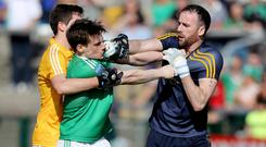 Big impact: Antrim goalkeeper Chris Kerr is eager to go on a run in the Ulster Championship