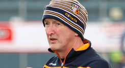 Aiming high: Dominic McKinley wants Antrim to move up in the world