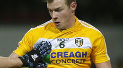 Key role: Peter Healy has big part to play for St Enda's