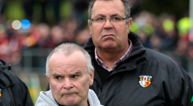 Top job: Joe Edwards (left) is in running to become Antrim county board chairman