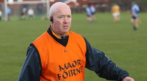 Tough schedule: Gary O'Kane admits Antrim will be tested