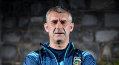 Fired up: Liam Sheedy is primed for Kilkenny test
