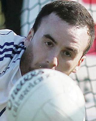 Chris Kerr wants to win promotion with Antrim
