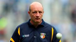 Big goal: Terence McNaughton is eyeing an Ulster final slot