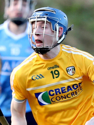 Hot shot: James McNaughton can rack up scores for Antrim