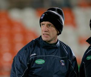 Lead role: manager Kieran McGeeney is aiming to guide Armagh to fresh glory