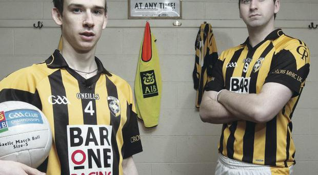 Joe Kernan will entrust his faith in youth, the likes of Paul Hughes (left) combined with the experience of David McKenna