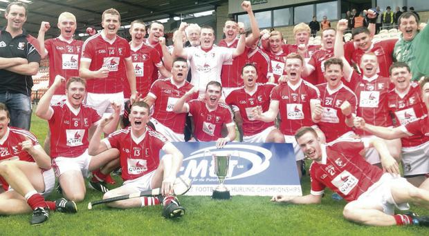 Dual target: Craobh Rua hurling club now have their sights on success in the Ulster