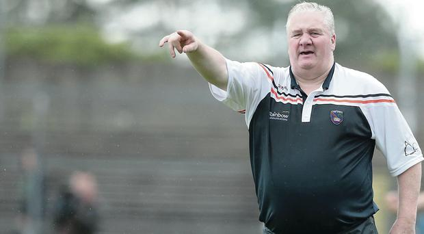 Staying focused: Armagh's Paul Grimley isn't letting injury trouble affect his preparation