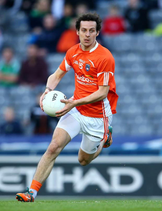 Brilliant: Jamie Clarke is one of the game's brightest young stars, says his Armagh boss Kieran McGeeney