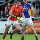 Class act: Ethan Rafferty inspired Armagh to victory