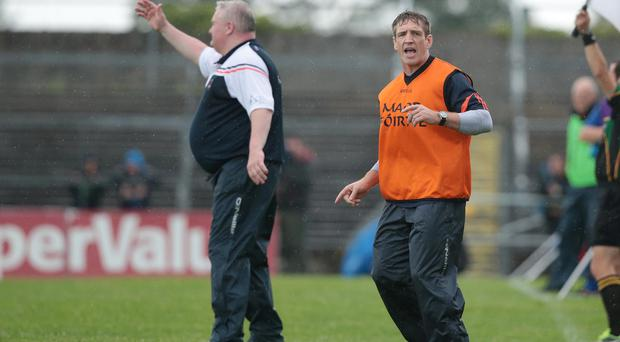Busy man: Kieran McGeeney has plenty to work on