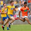 Pressure point: Jemar Hall and Kieran McGeeney are primed for Armagh's must-win tie against Tipperary