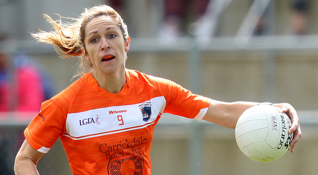 Missing out: Caroline O'Hanlon will be an Armagh absentee