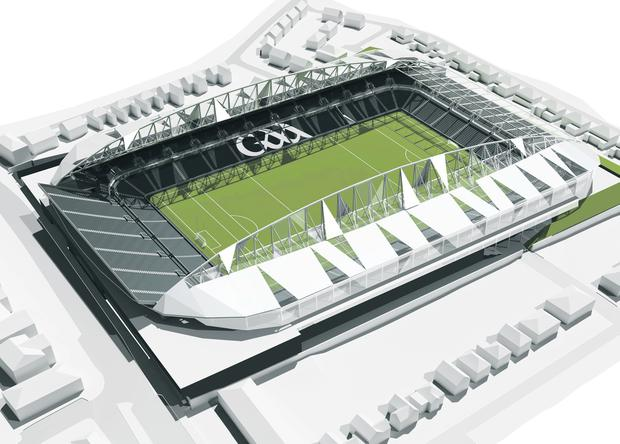 Plans for how Casement Park will look after redevelopment