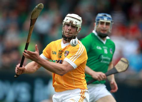 Neil McManus is relishing another National Hurling League campaign with Antrim, which starts on Sunday with a trip to face Limerick at the Gaelic Grounds