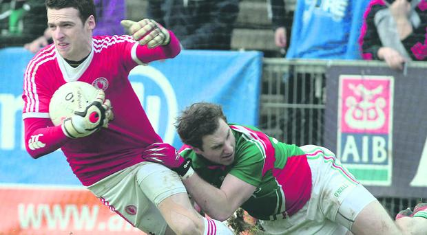 Niall Morgan has made the goalkeeper position his own for Tyrone