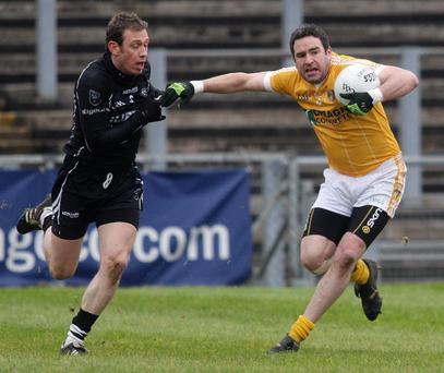 Micahel Magill has been axed by Antrim