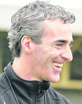 Jim McGuinness 8/9/2012...Donegal Football Open Training Session, MacCumhail Park, Ballybofey, Co. Donegal 8/9/2012 Manager Jim McGuinness Mandatory Credit ©INPHO/Kieran Murray