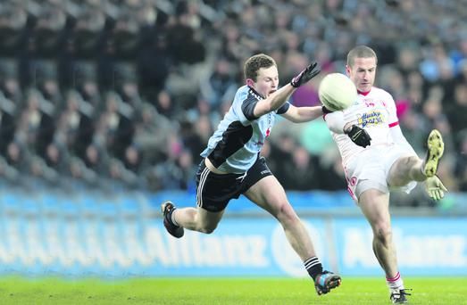 Stephen O'Neill banked four precious, and impressive, points on Sunday