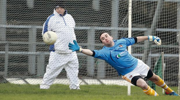 Chris Kerr will be Antrim's goalkeeper against Monaghan