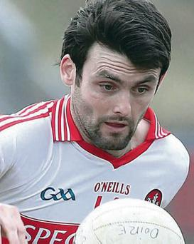 Derry's Eoin Bradley has dislocated his AC joint