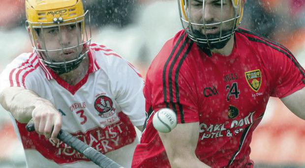 United approach: Derry and Down hurlers could join forces in the future as part of a Team Ulster in the All-Ireland Championship