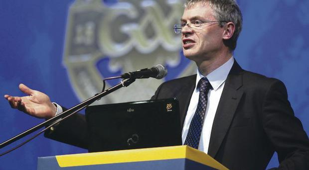 Verbal volley: Joe Brolly was heavily critical of Paul Grimley