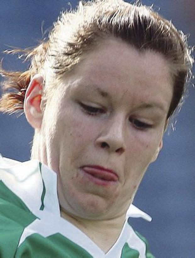 On target: Caroline Little pointed for Fermanagh
