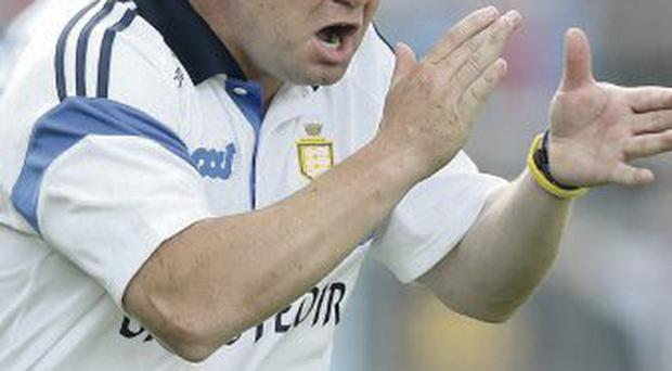 Proud of his boys: Clare hurling manager Davy Fitzgerald