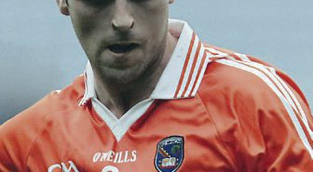 On target: Malachy Mackin scored for St Patrick's